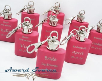 Wedding Flasks for Bridesmaids // Maid of Honor Gifts // Matron of Honor Gifts // Mother of Bride Gift // Mother of Groom Gift  // Sister