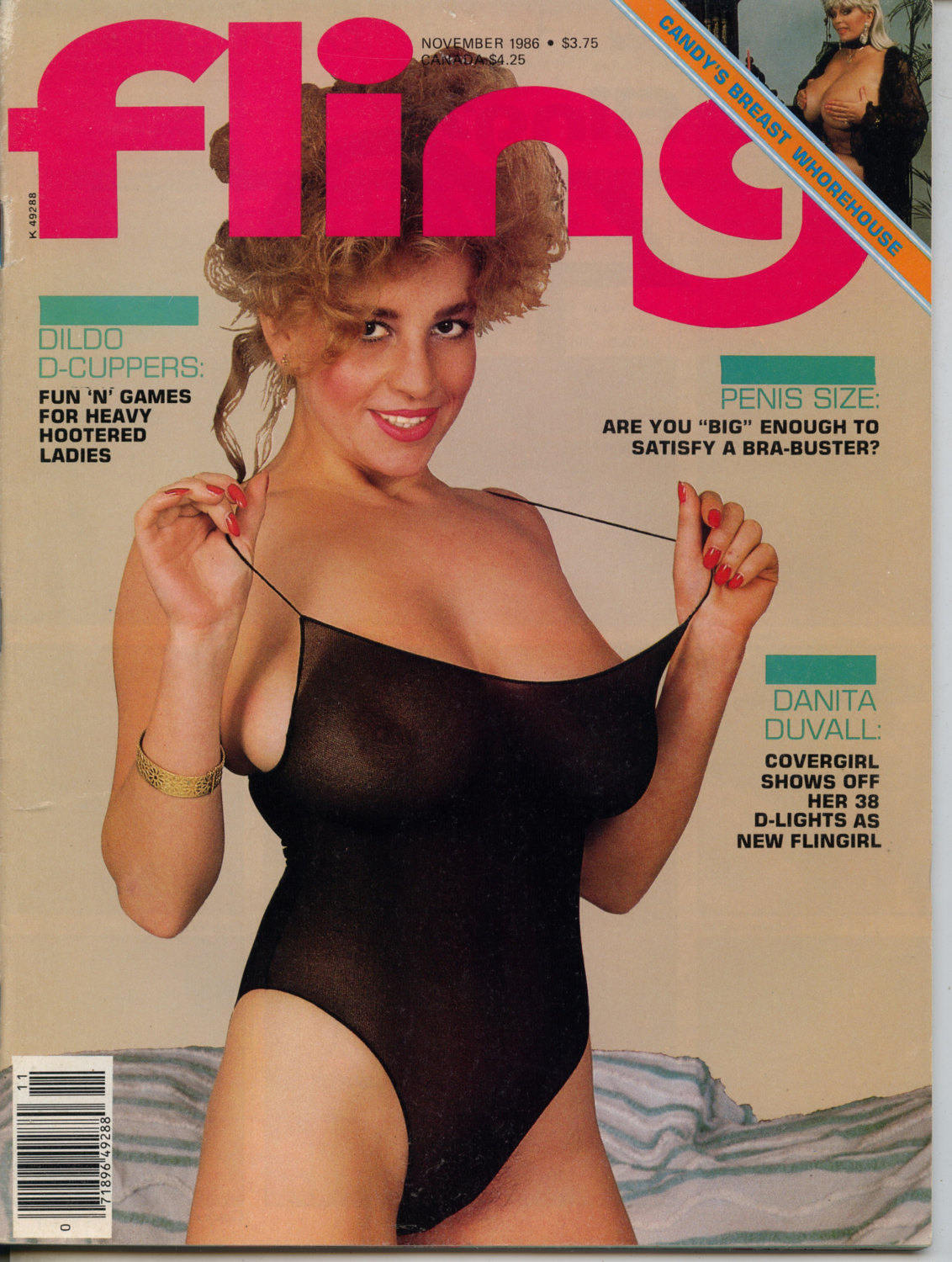 fling november 1986 magazine near mint condition mature large