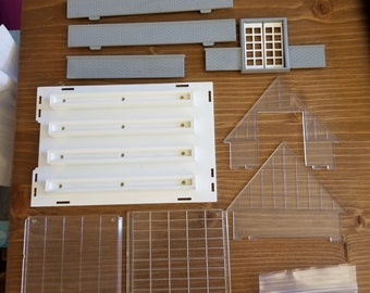 Plasticville 1804 Greenhouse Complete Kit