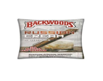 Russian Cream Backwoods Double-Sided 20x30 inch Comfortable Queen size Pillow Case
