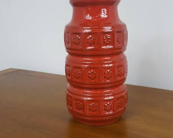 West German Pottery Vase 268-10