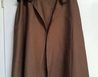 Renaissance Traveller's Cloak - Brown