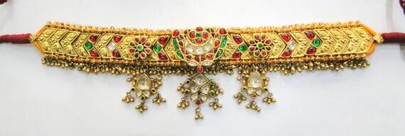 Vintage antique Solid 20K Gold Jewelry Precious Gemstones