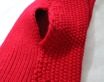 Doggy sweater, Red, Soft, size M