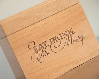 Recipe Box - Eat, Drink & Be Merry
