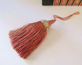Vintage French Houles Key Tassel, French Chic, Vintage Houlès French Key Tassel, Paris Apartment, French Trim