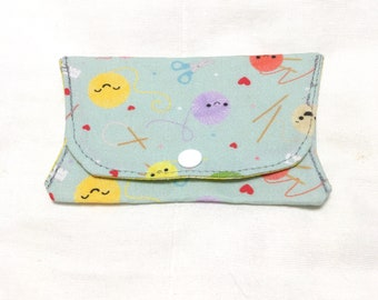 Yarn Knitting Folding Notions Pouch Notions Case Notions Keeper