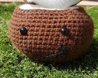 Claire the Crochet Coconut
