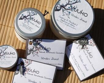 Winter Frost- 2% Menthol Cream with Calendula, Aloe Vera and Evening Primrose Oil.
