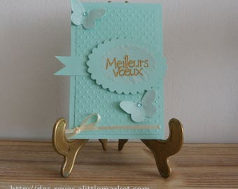 Greeting card - best wishes - Butterfly