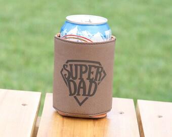 Super Dad Beer Can Hugger