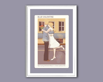 Movie poster Blue Valentine print in various sizes