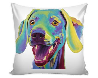 Weimaraner Gift, Weimaraner Dog, Pillow Cover, Decorative Pillow, Dog Art, Weimaraner Art, Dog Pillow Cover, Pillow Covers