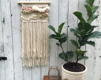 Handwoven Wall Hanging // Weaving // Wall Art
