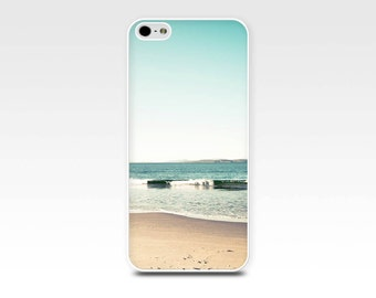 beach iphone case 5s iphone 4s case beach scene nautical iphone 6 case iphone 4 iphone 5 case fine iphone photography case mint teal waves