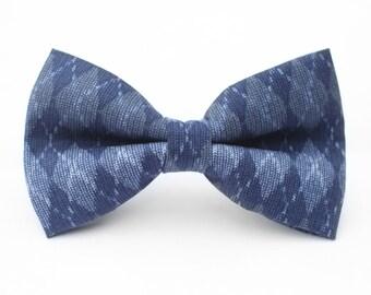 Argyle Bow Tie | Bow Tie for Men | For Him | Bowtie | Self Tie | Dog Bow Tie | Mens Bow Tie | Boys Bow Tie | Wedding Bow Men