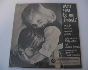 SALE! - Patty Zeitlin - Won't You Be My Friend - Circa 1972