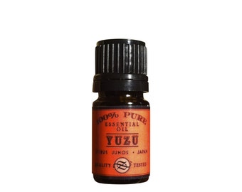 Yuzu Essential Oil, Citrus junos, Japan - 5 ml