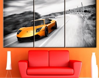 Сanvas art, Car canvas, Car, Wall Art, Gift for him, Birthday Gift