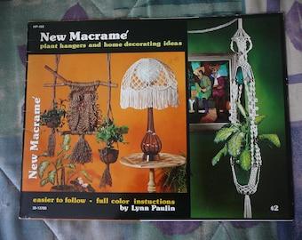 New Macrame: Plant Hangers and Home Decorating Ideas - Lynn Paulin