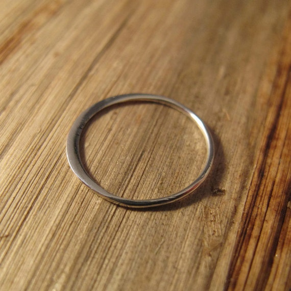 SHINY Silver Link, Sterling Silver Circle Link Connector, Simple Elegant Charm, Jewelry Supplies (CH 2405)