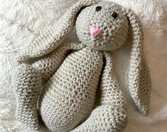 Small Bunny Rabbit Crocheted Toy