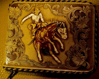 Vintage Western Childs wallet from the 50's in nice condition.