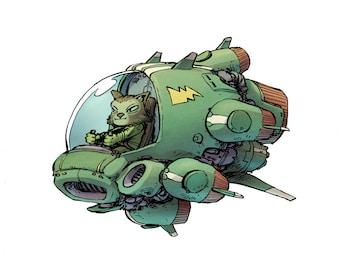 Cat Pilot III