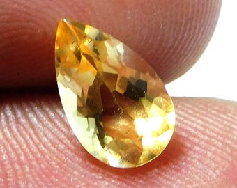 Natural Citrine Faceted Stone Size 6x10x5 mm,PCD 2362