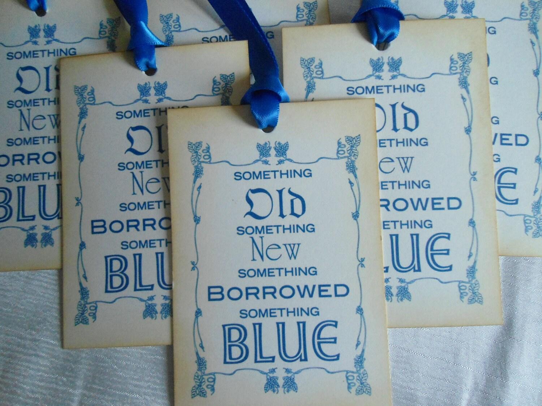 Something Old Something New Something Borrowed Something Blue Gift