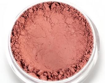 """Matte Rose Blush - """"Lovely"""" (4.5g Net wt) - Vegan Matte Mineral Blush"""