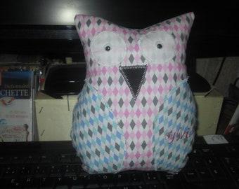 Plush OWL shape personalize