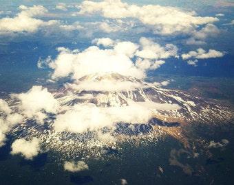 Mt. Rainier print on canvas