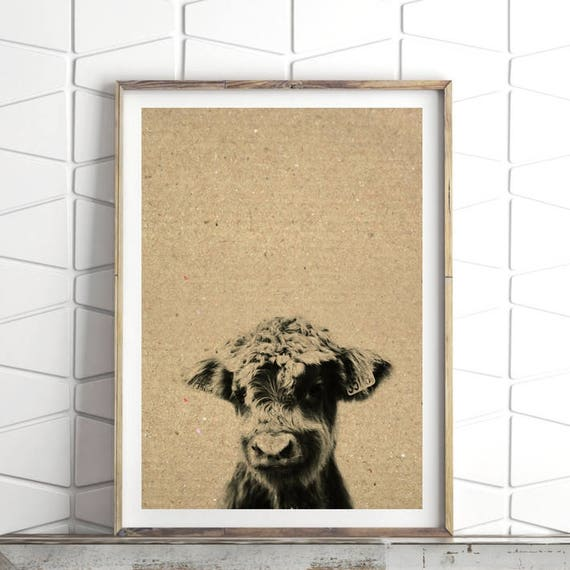 Farmhouse Wall Decor Farmhouse Digital Prints Farm Animal