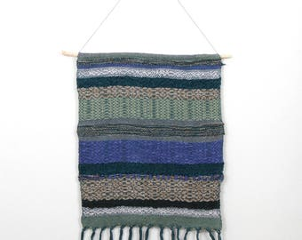 Hand Woven Tapestry - Water