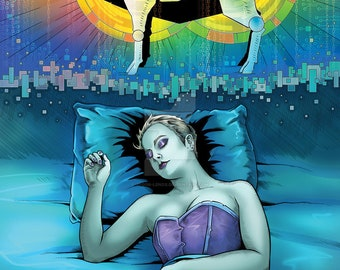"""Do Androids Dream of Electric Sheep? Print 11x17"""""""