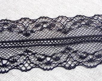 1 meter of Black Lace Trim