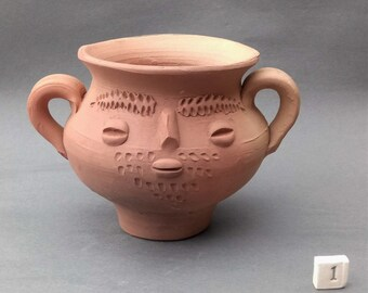 Replica Roman Head Jar - Small Various Designs
