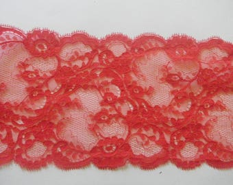 light red lace and delicate lace