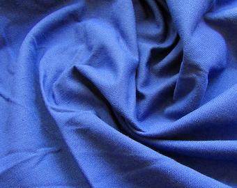 Coupon 44x138cm + 52x50cm thick royal blue cotton canvas