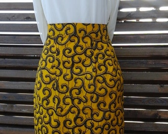 Straight skirt 4 clips front and back