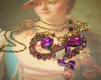 """""""Madame de Pompadour"""" Versailles collection marquise necklace"""