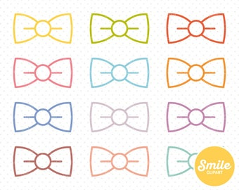 Bow Tie Clipart Illustration for Commercial Use | 0251