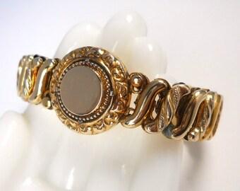 Vintage Carmen De Luxe Sweetheart Expansion Bracelet
