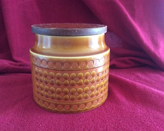 Hornsea Saffron Storage Jar with Lid