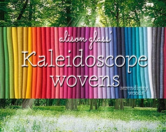 IN STOCK! ANDOVER Kaleidoscope Wovens 40 pc Full Collection Bundle Fat Quarter, Fat Eighth, Half Yard, One Yard by Alison Glass