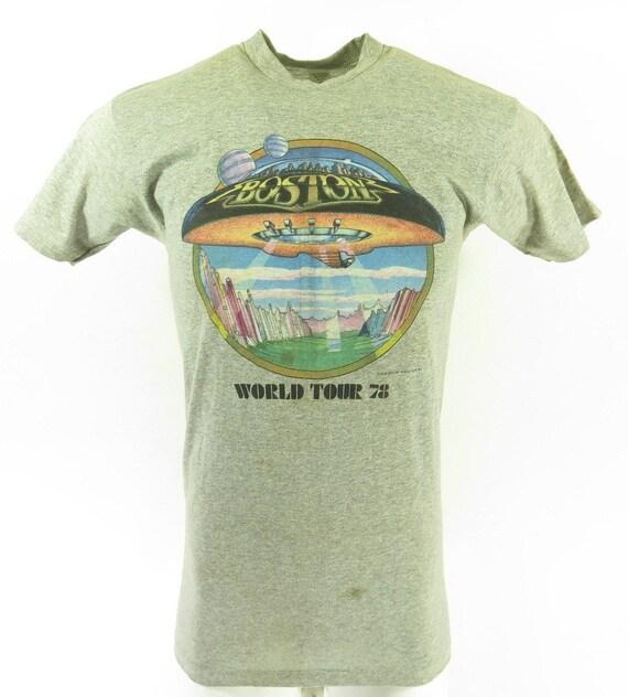 RARE 1985 Marillion World Tour original distressed 80s tee vintage band tshirt concert size Medium 7Ae43tz