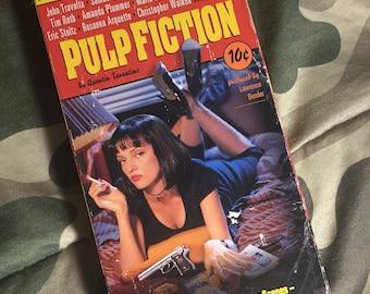 Pulp fiction vcr tape
