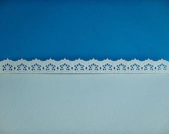 Cutting edge lace white design for scrapbooking and card paper