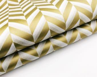 Metallic Gold Herringbone Tissue Paper Sheets- Gift Wrapping/Bulk  Paper/Tissue Paper Tassel/Tissue Paper/Wrapping Paper/Easter Paper/gold